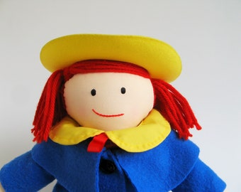 Vintage Madeline Doll by Eden 1990s Toys