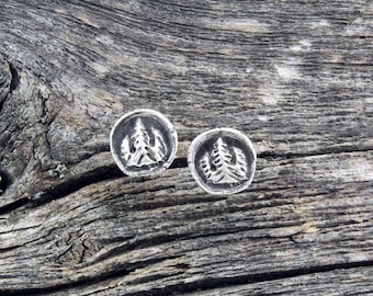 Forest Roots Stud Earrings
