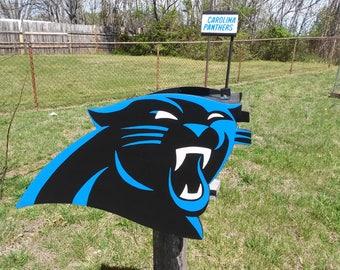 Carolina Panther Mailbox