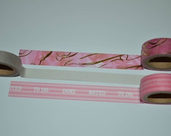 Washi Tape Sample Marmor/Note 3 x 1 m