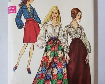Vintage Pattern Simplicity 8550, size 16, from 1969
