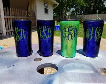 Personalized Wedding Party Tumblers