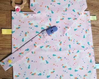 Unicorn fabric baby kit