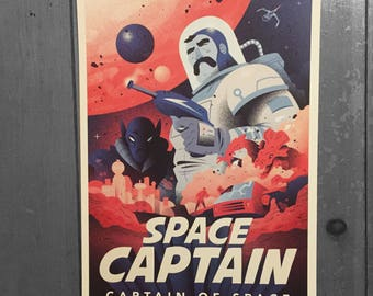 Space Captain Print