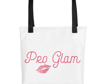 Pro Glam tote bag | I am Pro Glam | Girl tote | Lips tote | Grocerie tote | Carry all tote | Teen tote | Bridge tote