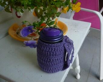 Knit Jar Cozy