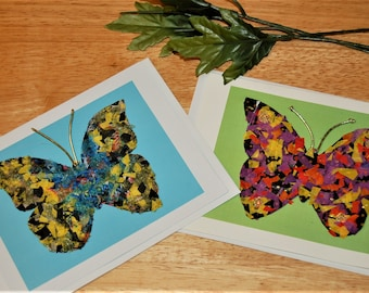 Butterfly Card/Birthday/Encouragement/Thinking of You