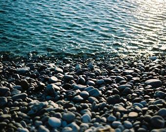 Pebble Beach Photography, Pebble Beach Photo, Beach Photography, Beach, Sea, Blue Sea, Pebble Beach, European Beach, Greece Photography