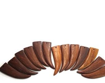 Flat Bayong Tusks, set of 6