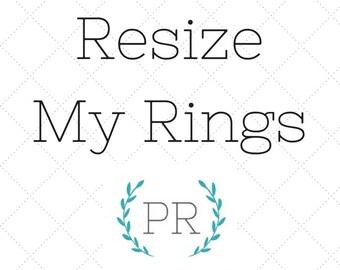 Ring Resizing Service