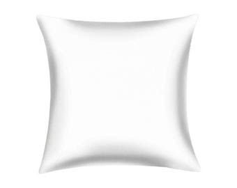1 18x18 WHOLESALE Blank Solid White Pillow Cover for Embroidery Stencil Craft Screen Printing Painting 1 Cover 18x18