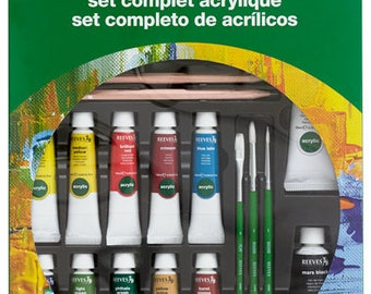 Reeves Acrylic Paint Set 10 / 10ml