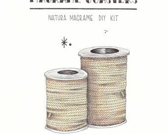 Macrame coaster PDF tutorial.