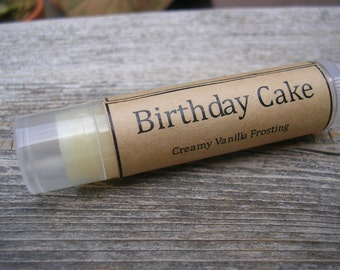 Birthday Cake Natural Lip Balm