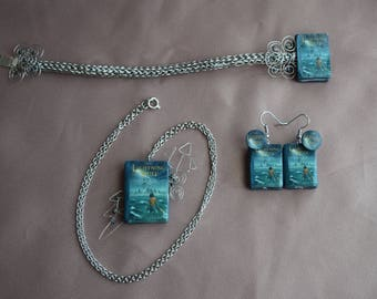 Percy Jackson and the Olympians: The Lightning Thief Jewelry Set