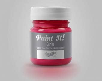 "Painting ""Paint It"" Rainbow Dust - cherry - 25ml"