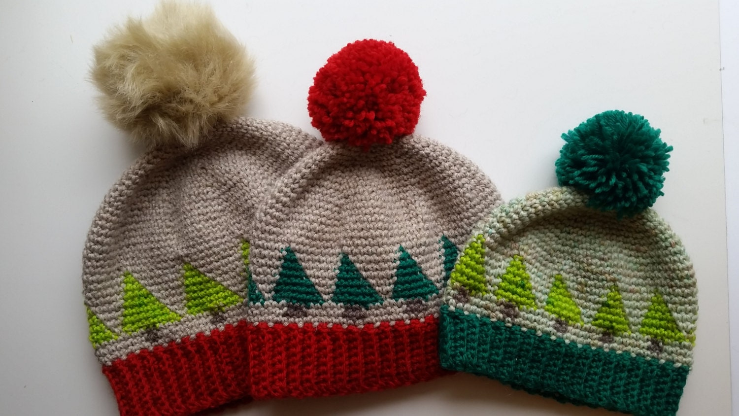 Unique Knitted Christmas Tree Hat Pattern Pictures - Sewing Pattern ...