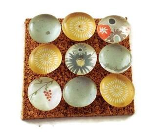Cork Board Pins Decorative Push Pins  Thumb Tacks in Mon Ami (P107)