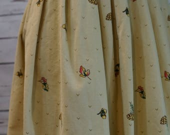 Vintage Villager Fall Skirt