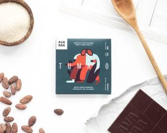 Chocolat noir Tumaco (Colombie) - Single origin Tumaco dark chocolate