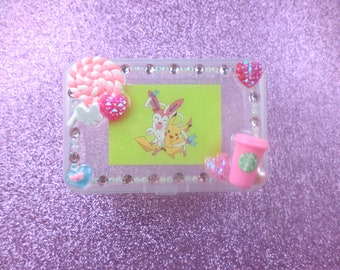 Sylveon and Pikachu Inspired Resin Box Fairy Kei Kawaii