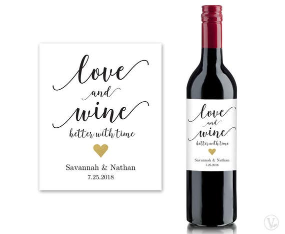 Revered image within printable wine bottle labels