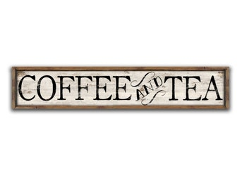 Bon Coffee Signs Wooden Coffee Signs Tea Sign Coffee And Tea Signs Coffee Decor  Coffee Shop Signs Bakery Signs Kitchen Signs Coffee Bar Signs