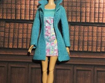 Handmade Blythe / Azone / Obitsu / Barbie doll jacket coat cardigan