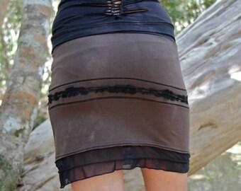 Soul Skirt- pixie skirt/short skirt/doof skirt/festival clothing/party clothing/pixie clothing/festival skirts/dance wear/dance skirt/unique
