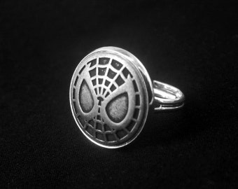 Spider-man Ring -Spiderman Ring -Super Hero Ring -Adjustable Personalized Ring