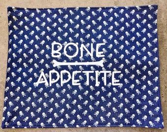 Bone Appetite placemat