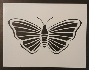 Large Butterfly Moth Custom Stencil FAST FREE SHIPPING