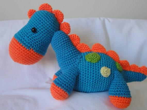 Häkeln, Dinosaurier, Dinosaurier Spielzeug, Dino, Geschenk, Geschenk, Dinosaurier, Häkeln Spielzeug, Plüschtier, junge, Mädchen, Baby-Dusche, ...