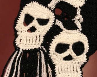 Skull scarf ( 2 styles available)