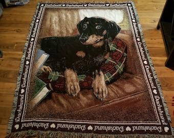 Huge Dachshund Blanket