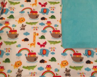 NOAH'S ARK PRINT blanket