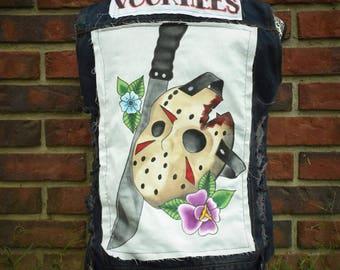 Jason Voorhees Punk Vest