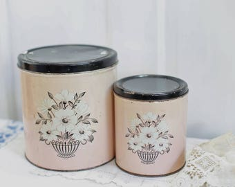 Decoware canister set Cookie Tins