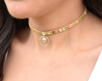 My Heart Collar Choker, BDSM Collar, Discreet Day Collar, Submissive Collar, Slave Collar, Submissive Jewelry,  BDSM Gift for Sub