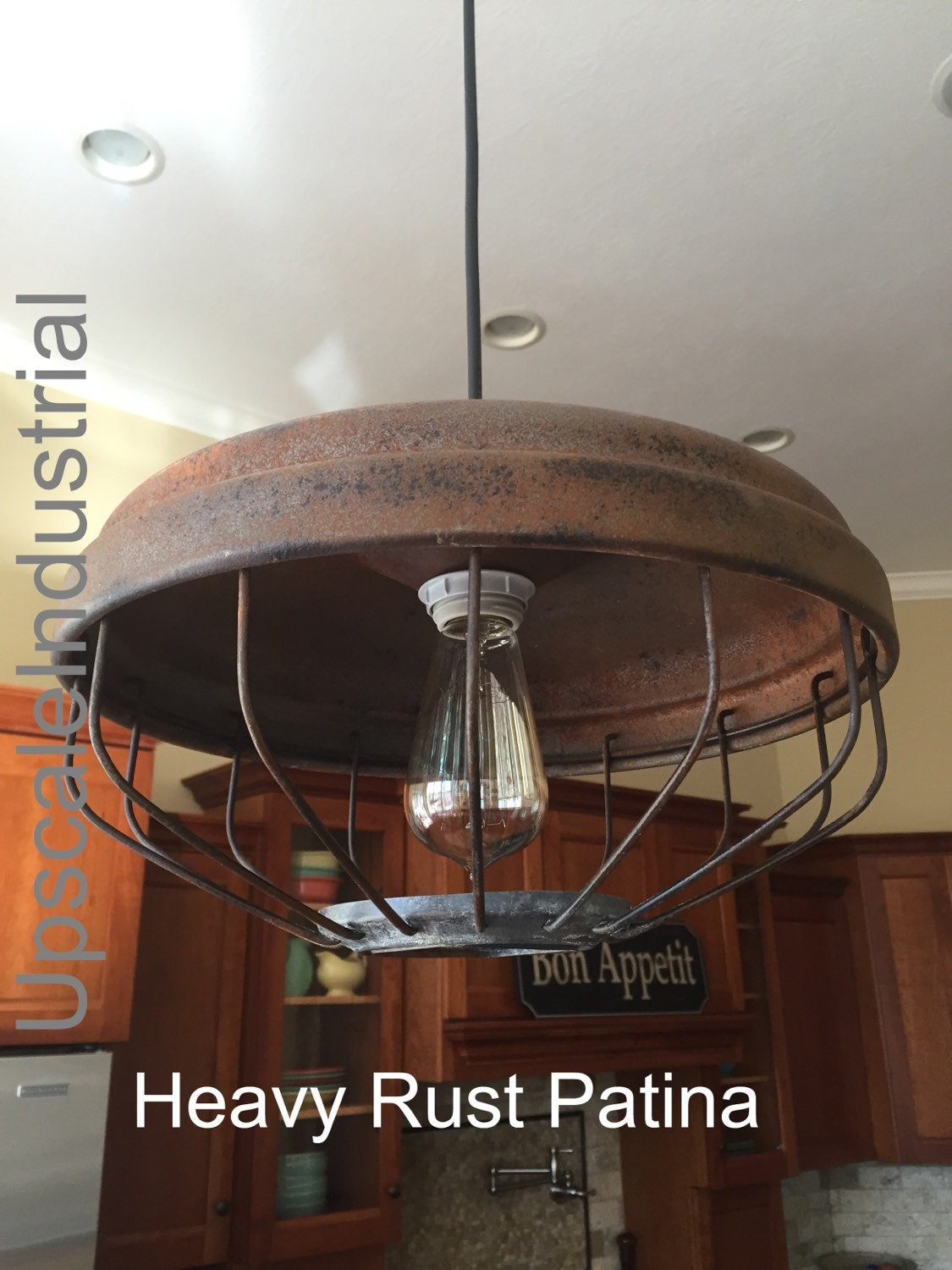 industrial lighting chandelier. Vintage Pendant Light/Rustic Chicken Feeder/Kitchen Island/Industrial Lighting /Steampunk /Farmhouse Chandelier/Rustic Chandelier Industrial N