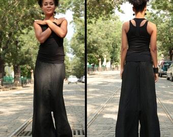 Black Linen Pants, Harem Pants, Linen Pants, Hippie Pants, Boho Pants, Loose Pants, Thai Pants, Harem Trousers, Baggy Pants, Sarouel Pants