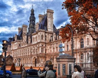 AUTUMN IN PARIS #10 Digital Photo Art Photography