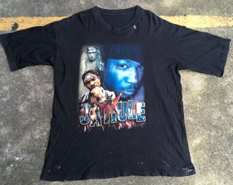 VTG Ja Rule Put it on Me Concert Promo T-Shirt 90s DeadstocK