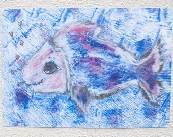 A3 poster nursery fish
