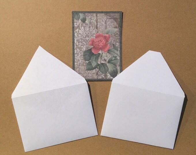 "2 Style Envelope Templates for Designer Folding Cards (2.5"" x 3.5"" Folded) & Designers Cards (2.5"" x 3.5"") Digital Download / ATC"