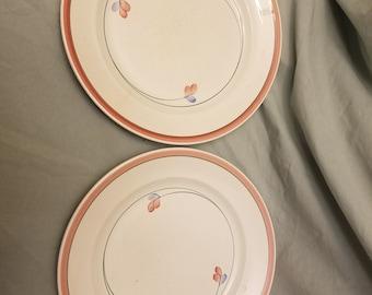 Lot of 2 Vintage Mid century Rorstrand Jenny Dinner plates sweden