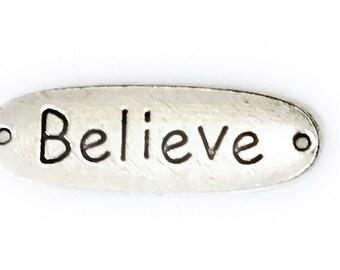Believe Add on memorial pendant