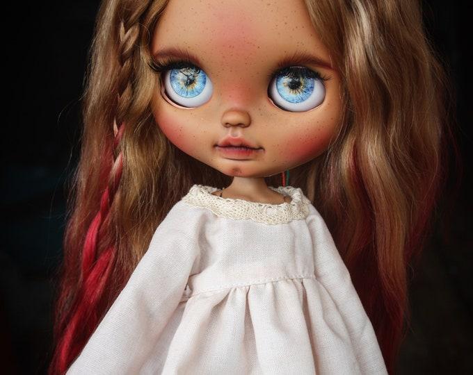 Olesya custom blythe doll by nataliexblythe
