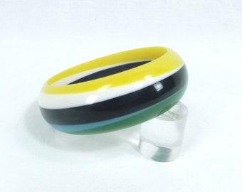 Vintage CELLULOID Bracelet  Bangle