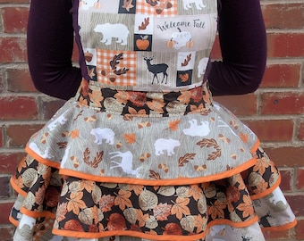 Fall Inspired Vintage Apron